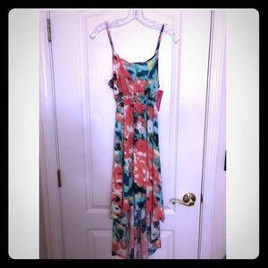 NWT High Low Pastel Dress